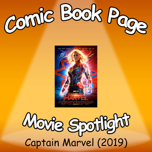 Captain Marvel (2019) Comic Book Page podcast