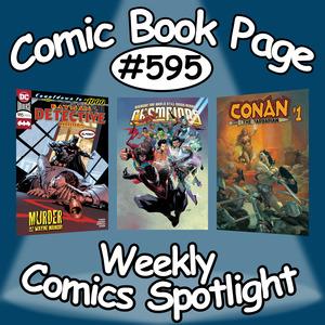 Weekly Comics Spotlight #595: 2019-01-02 | Comics Podcast